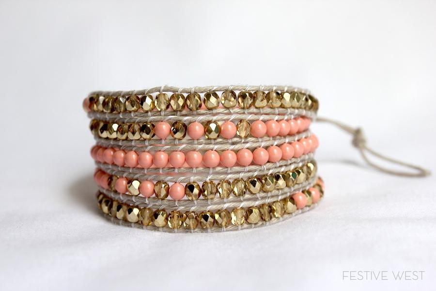 Festive West // Wrap Bracelet