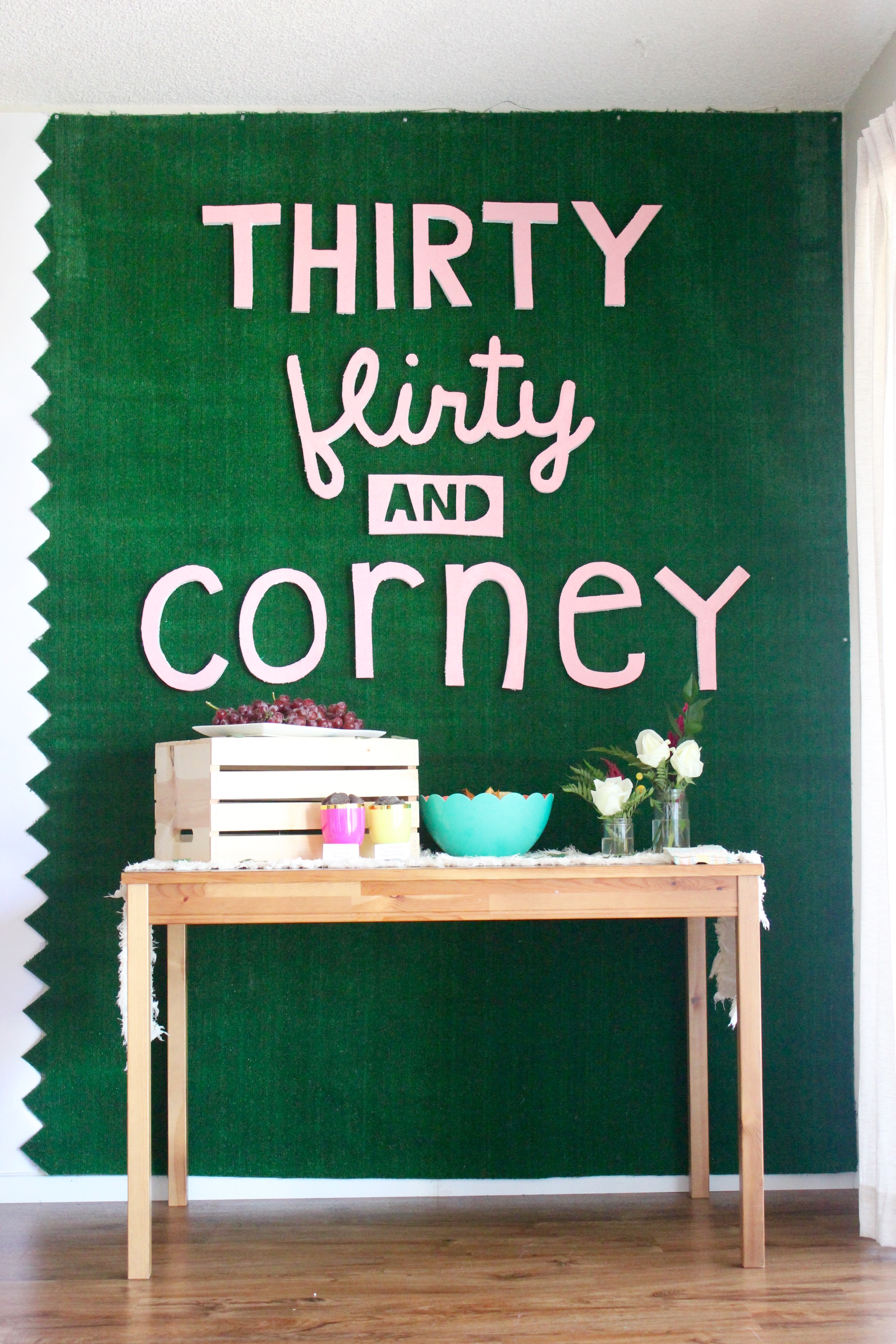 30 Flirty and Corney