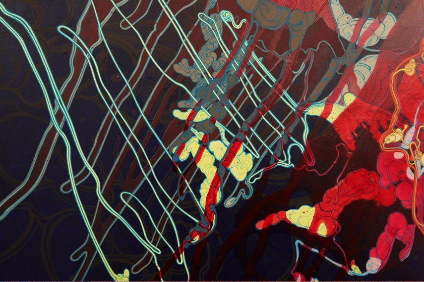 'Algae Bloom', 59 x 71, acrylic on canvas, 2010 (even more detail).jpg