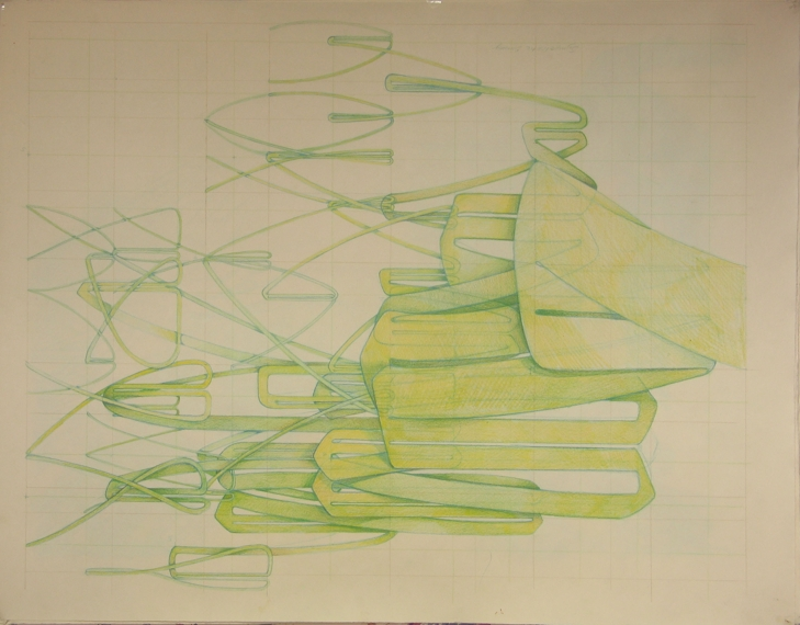 Research Drawings on Paper