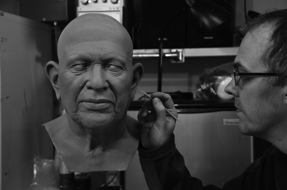 Sculpting the head
