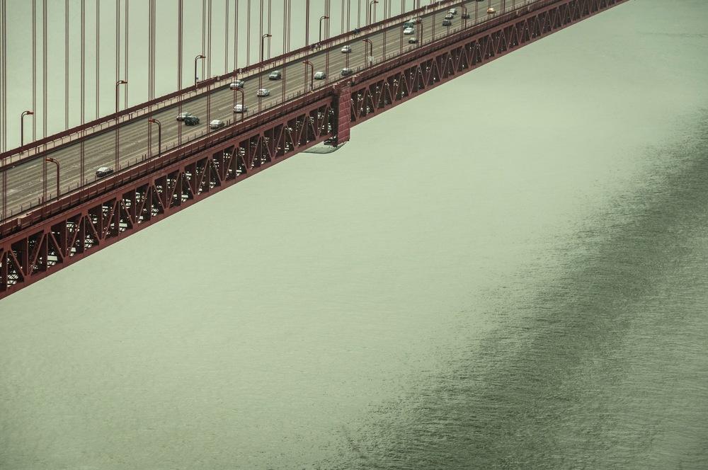 "golden gate bridge 5   8"" x 12"",12"" x 18"" or 20"" x 30""  2012"