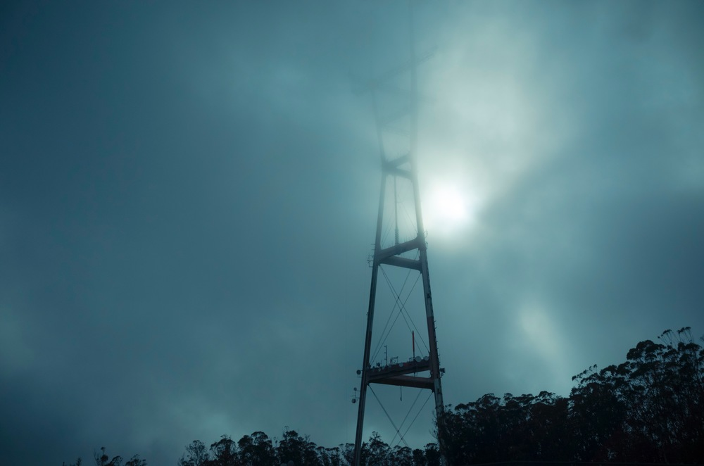 "sutro tower 2   8"" x 12"", 12"" x 18"" or 20"" x 30""  2015"