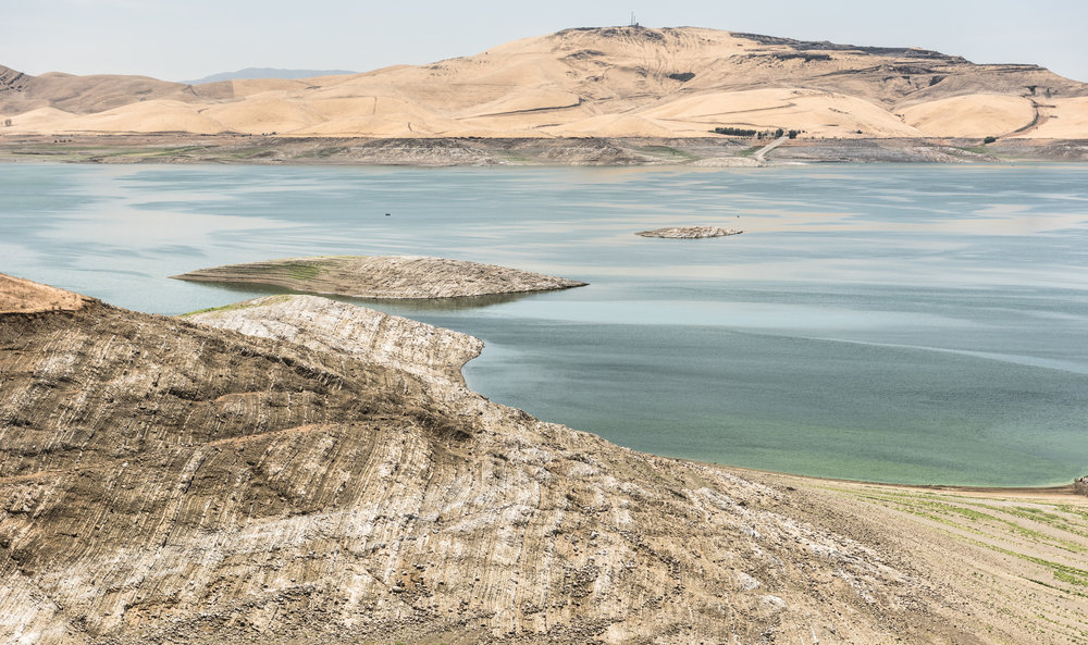 "san luis reservoir 2   7"" x 12"", 11"" x 18"" or 18"" x 30""  2015"