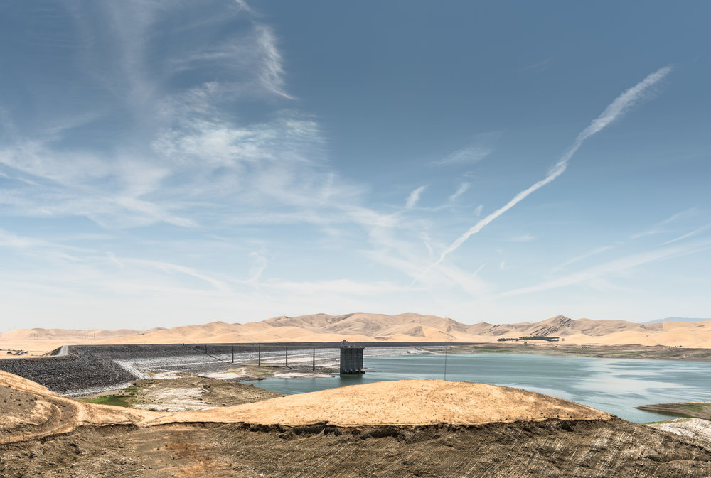 "san luis reservoir 1   8"" x 12"", 12"" x 18"" or 20"" x 30""  2015"