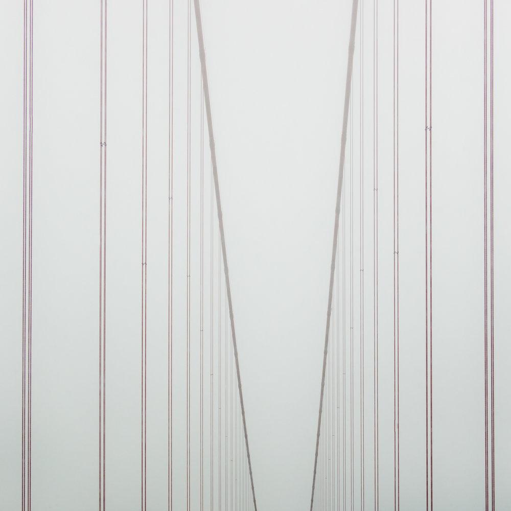 "golden gate bridge 10   8"" x 8"", 12"" x 12"" or 20"" x 20""  2018"