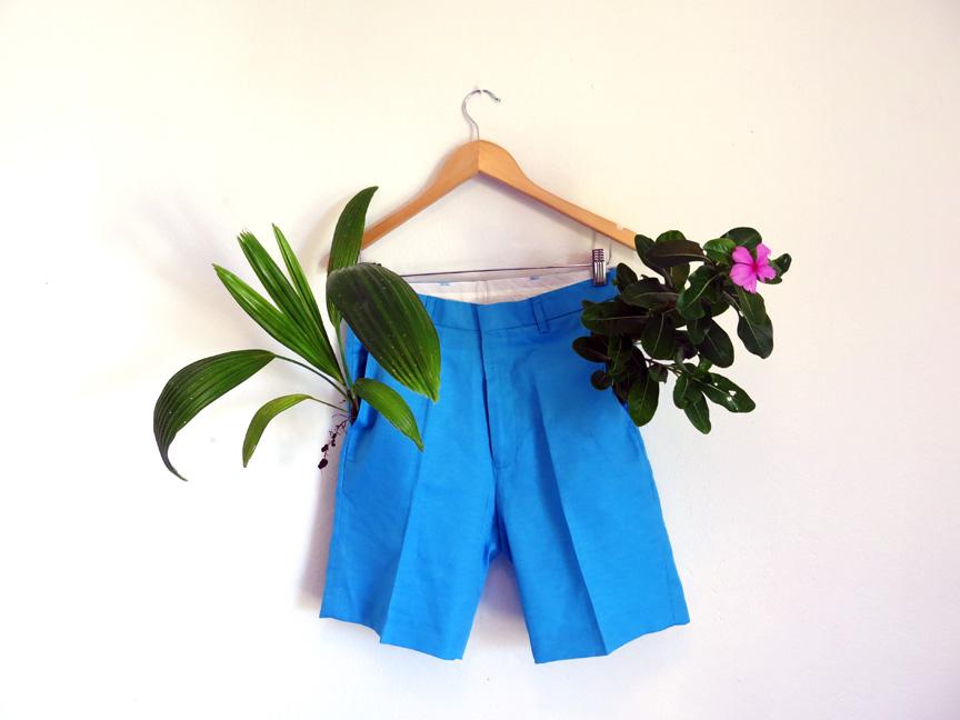 Bermuda Shorts Sculpture ( blue)