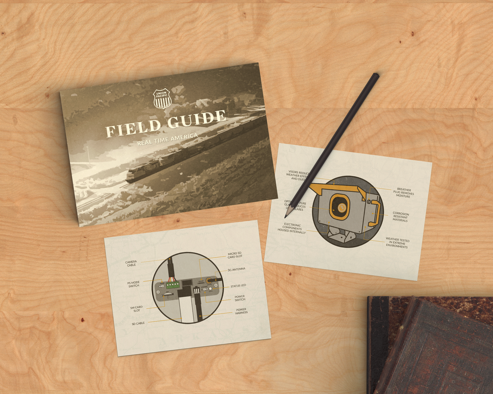 FIELD GUIDE INTERIOR | UNION PACIFIC