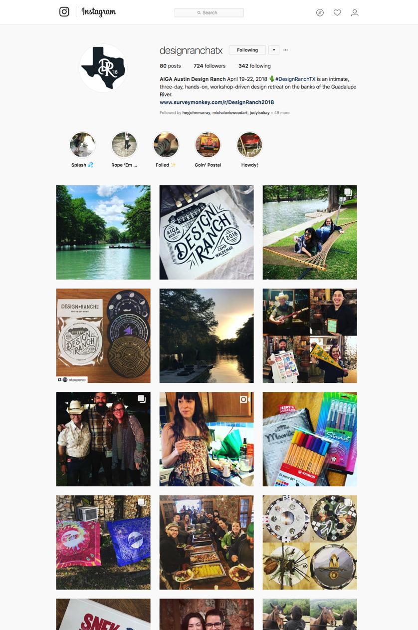 instagram |  designranchatx