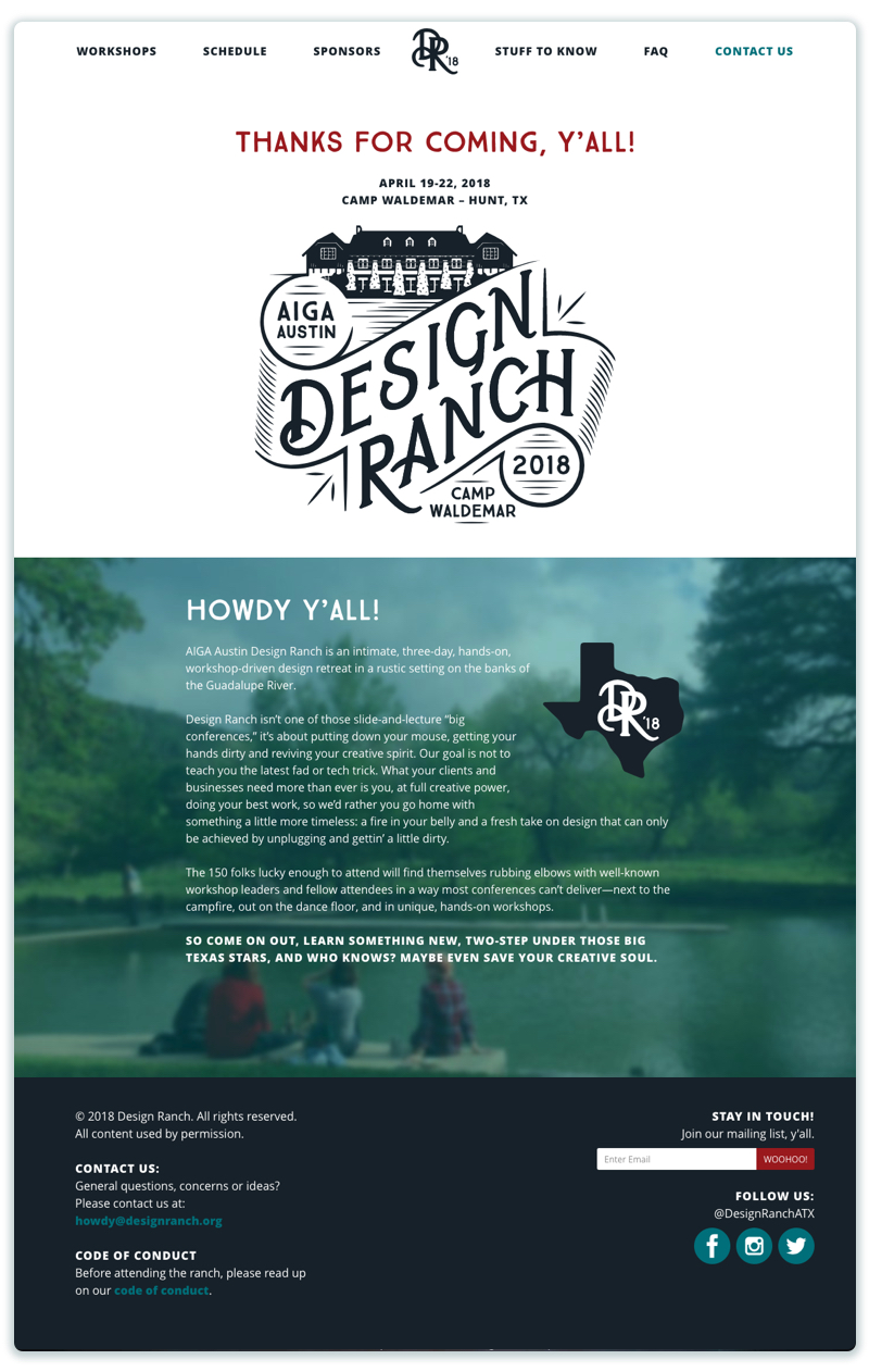 WEBSITE |  DESIGNRANCH.oRG