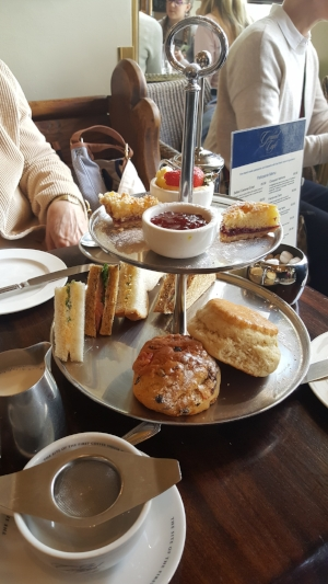 Delectables from the High Tea menu