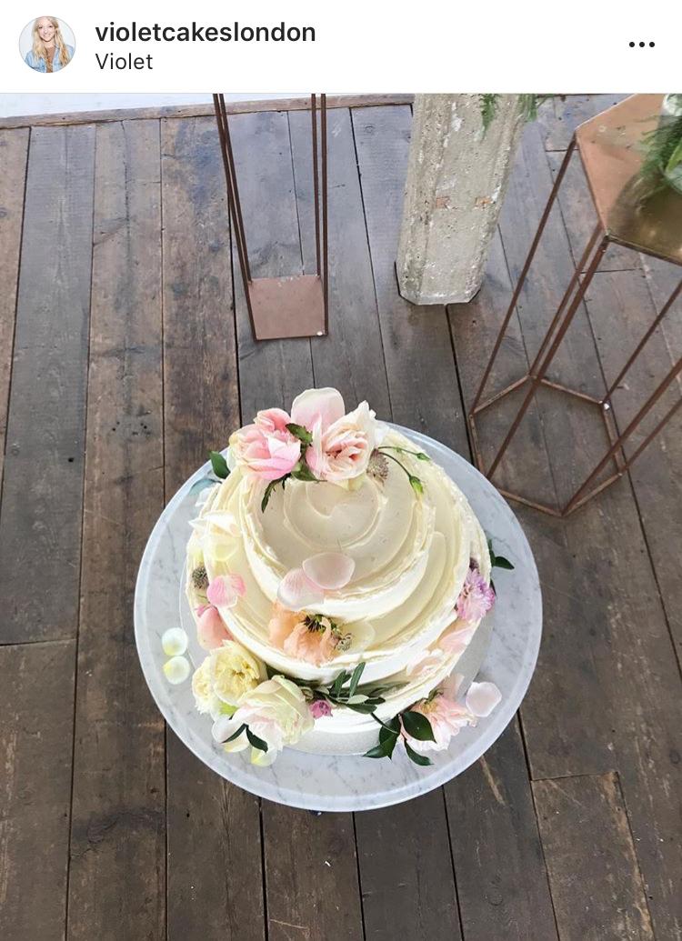 image source: violet cake's London's instagram
