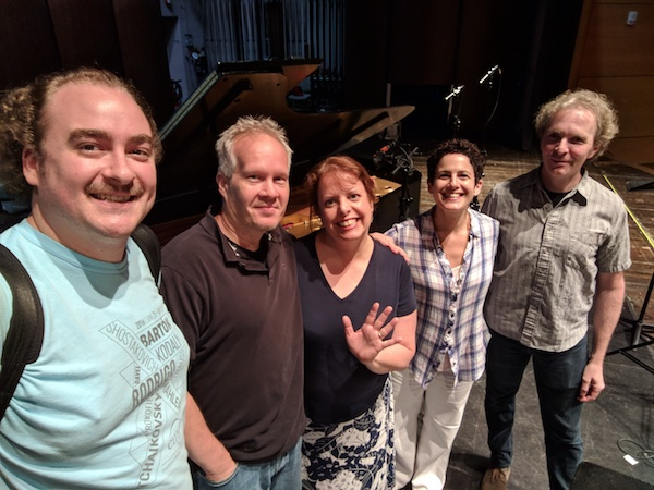 THANK YOU FOR YOUR SUPPORT!  (L-R: Peter Dutilly, Kirk O'Riordan, Holly Roadfeldt, Ann Moss, Andreas Meyer)
