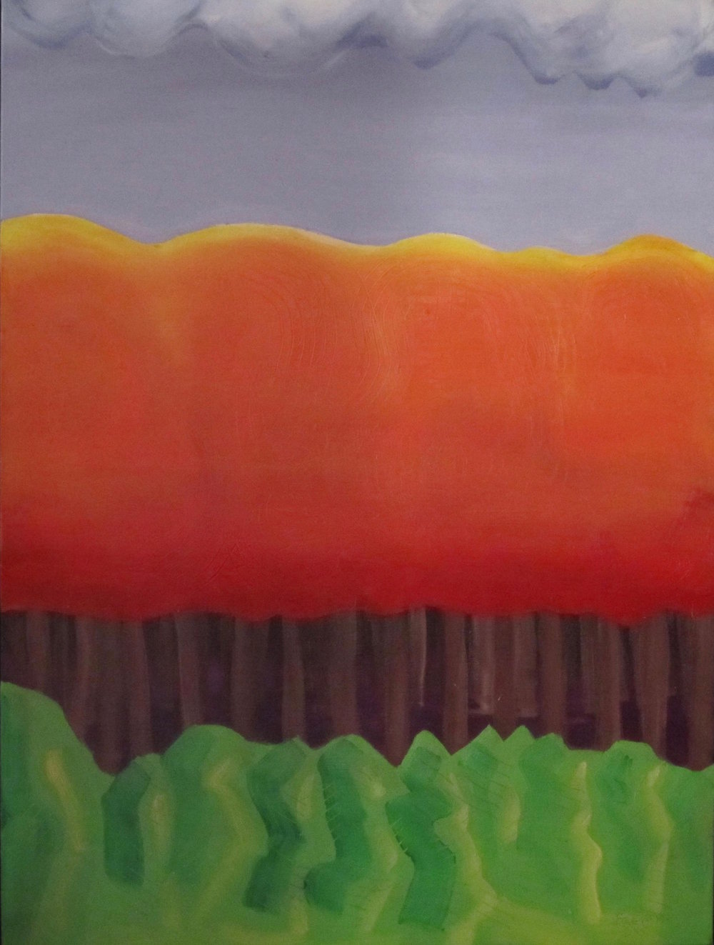 Autumnal - Oil on Canvas30 x 40Now residing in Portsmouth, NH with Kirsten