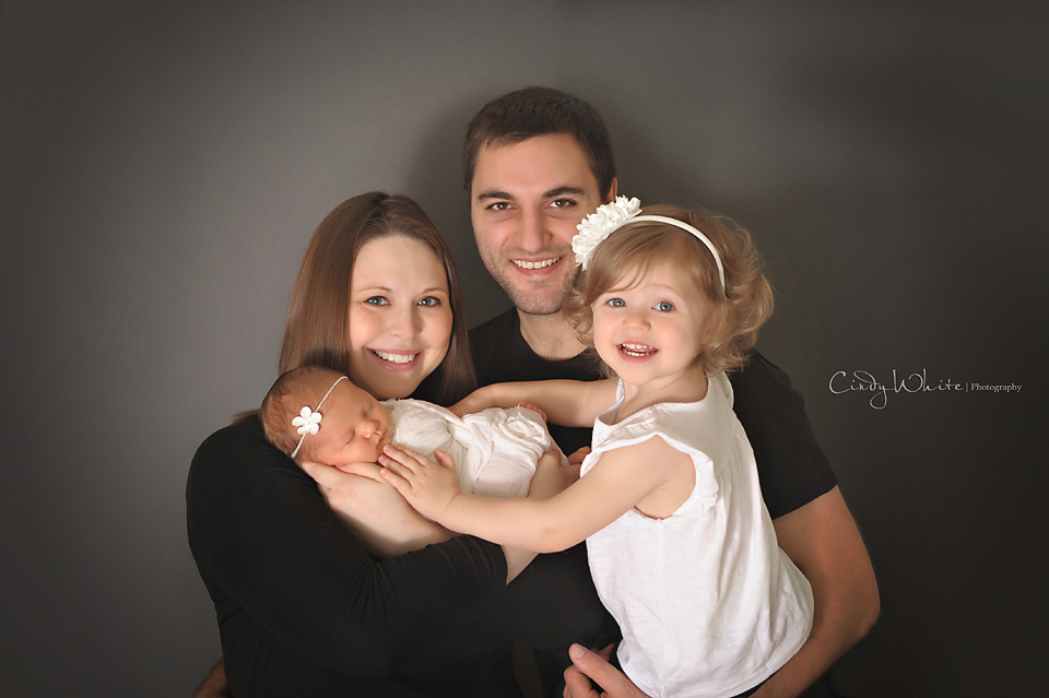 newborn with family culpeper va newborn photographer