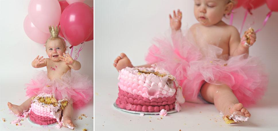 warrenton virginia baby first birthday cake smash pictures