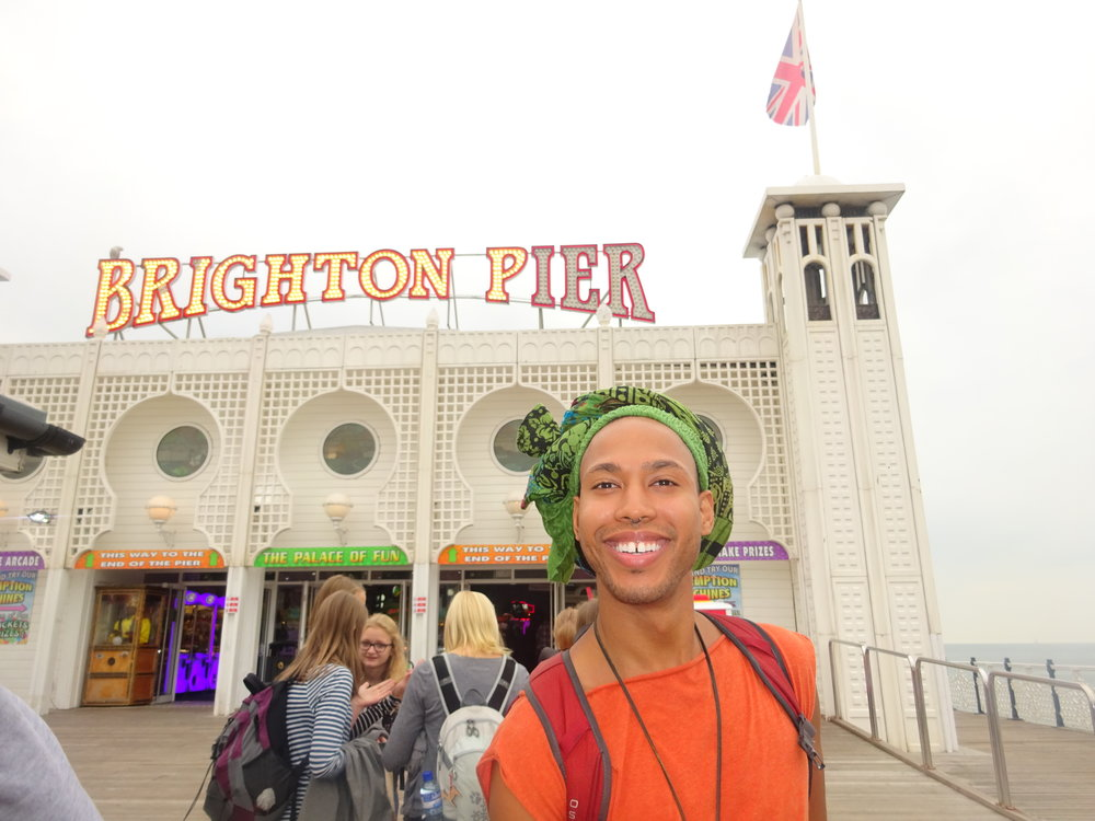 BRIGHTON, ENGLAND IS A LOVLEY PART OF ENGLAND TO CHECK OUT AN ITS ONLY AN HOUR 30 MINS AWAY FROM LONDON.