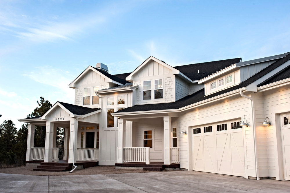 Project gallery gowler homes colorado springs custom for Modern farmhouse cost to build