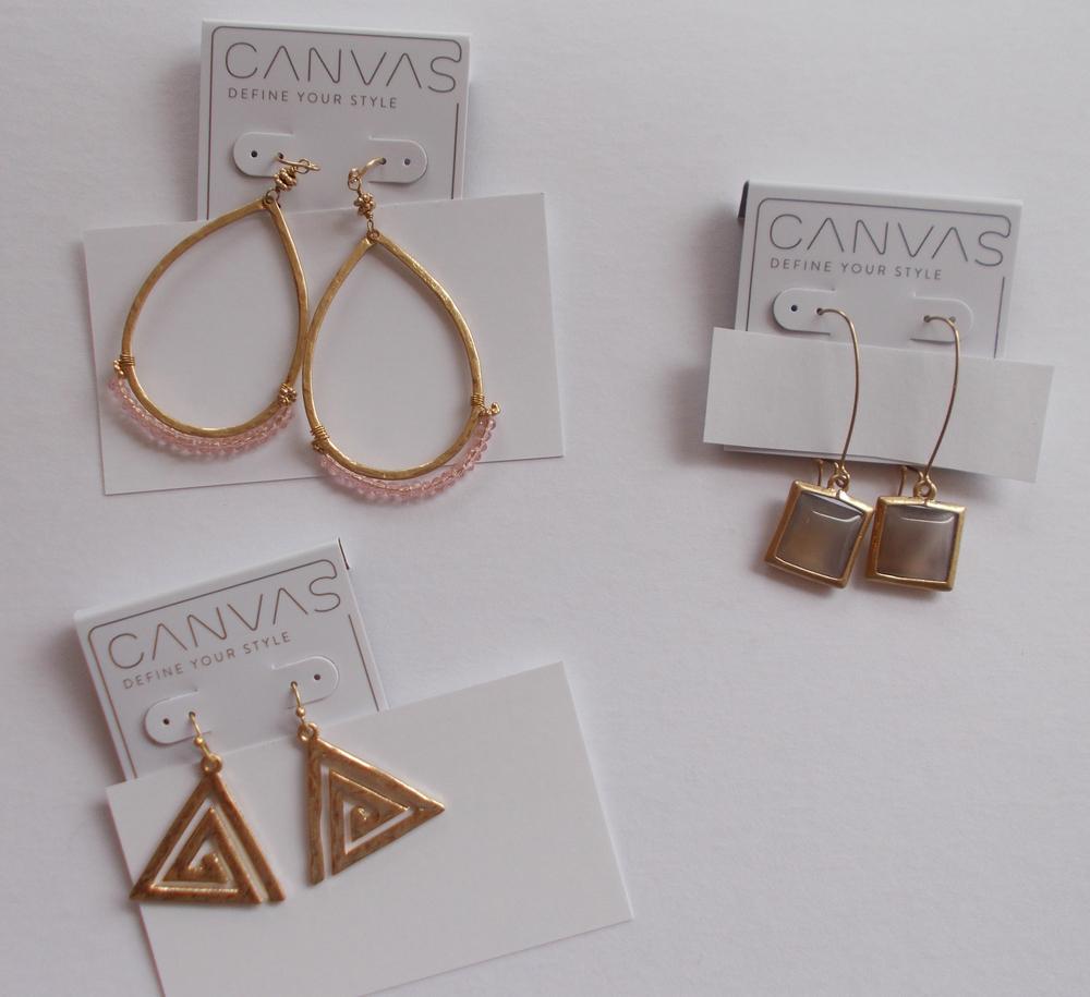 EARRINGS BY CANVAS