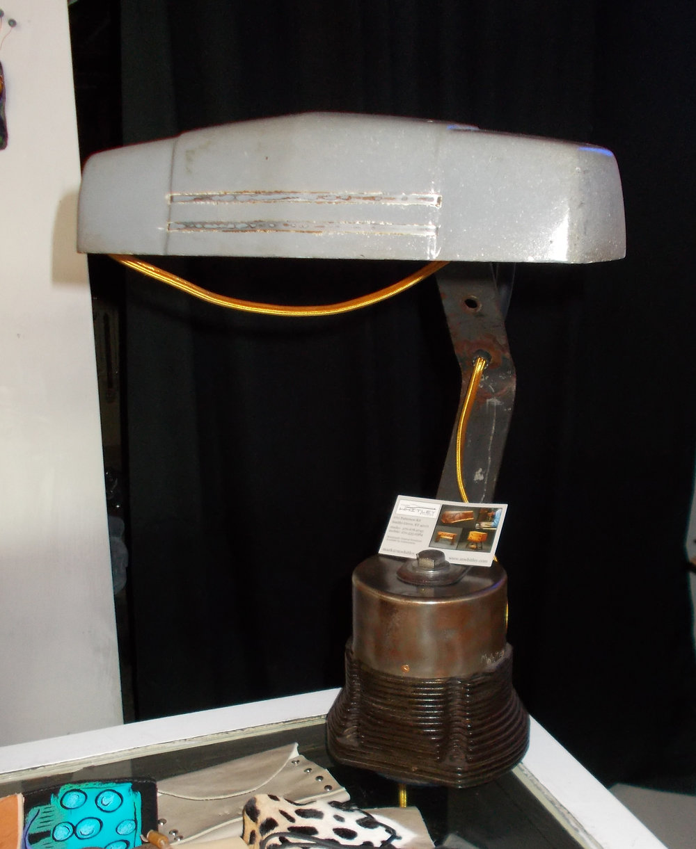 DESK LAMP by mark whitley