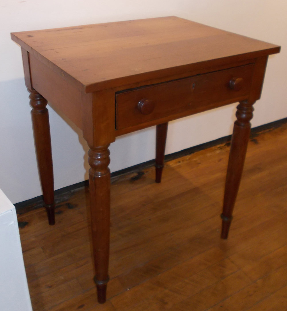 CHERRY END TABLE  28 INCHES HIGH
