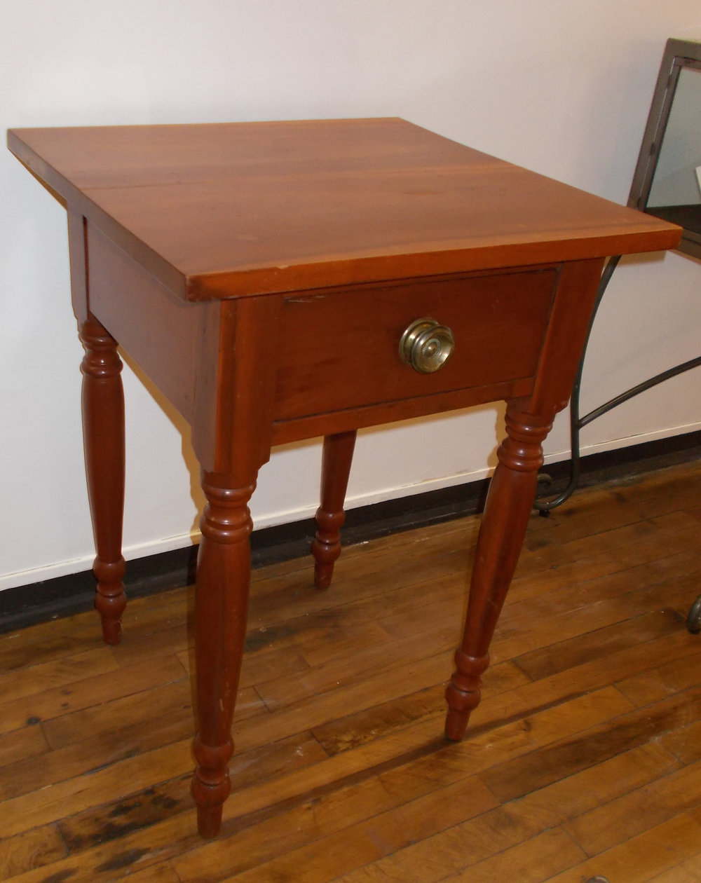 CHERRY TABLE  27 INCHES HIGH