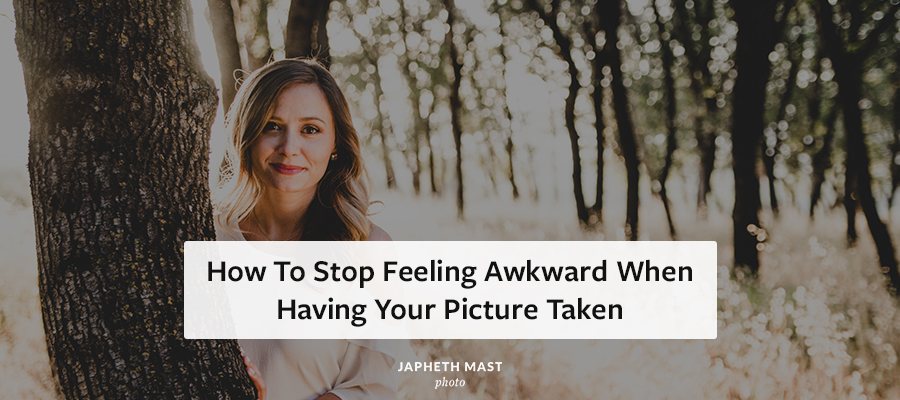 How to not feel awkward having your picture taken | Japheth Mast Sacramento Wedding Photographers