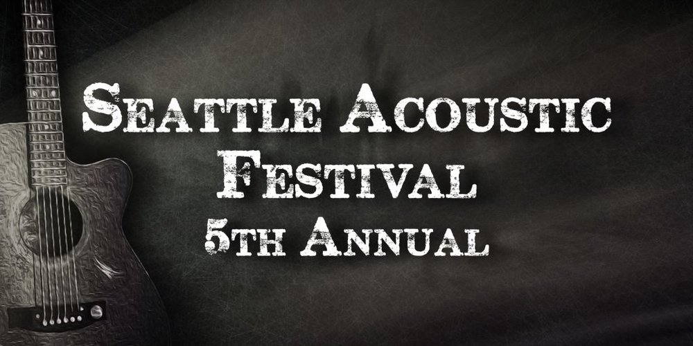 Lineup announced for Seattle Acoustic Festival, May 2018 - Marker is excited to be performing at the annual SAF, the largest, independent, musician-powered festival on the West Coast.