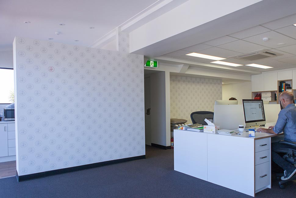 office wallpapers design 1 whenimanoldman officelogowallpaper1jpg corporate office wallpaper in surfers paradise left bank gallery