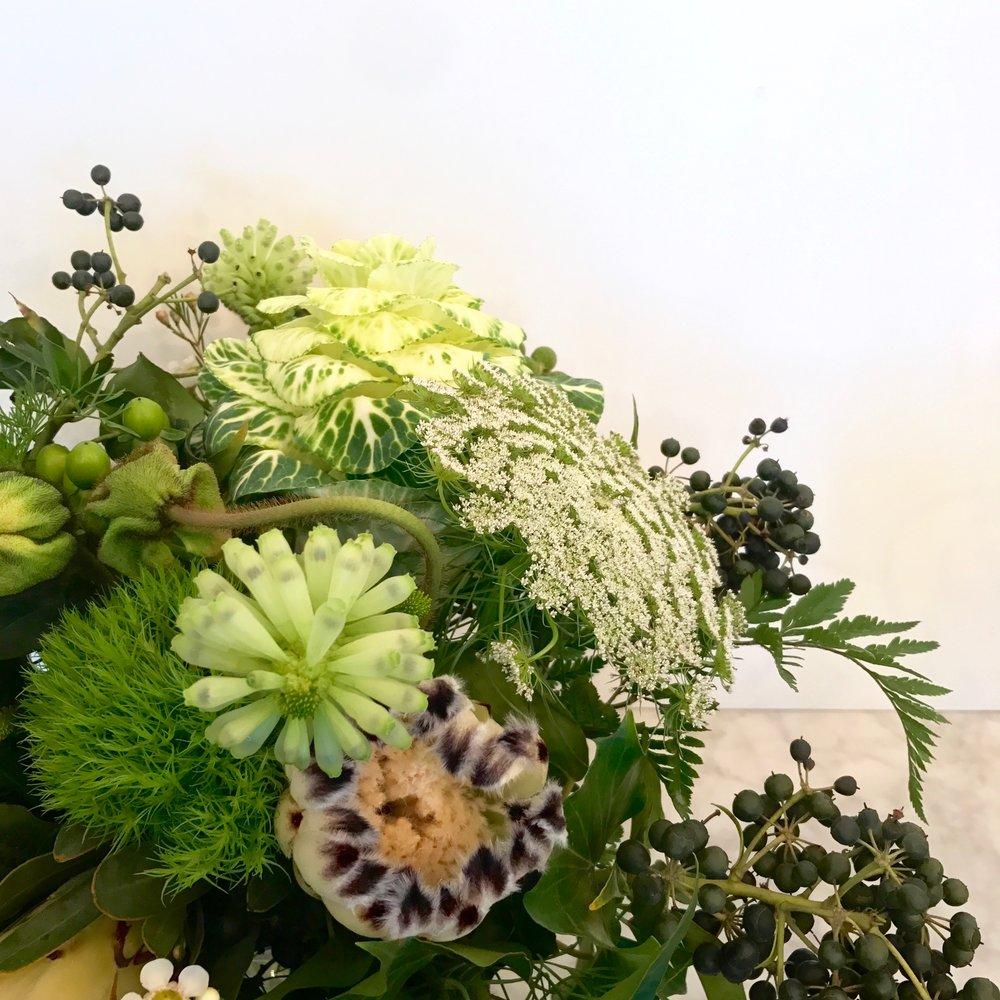 Textured bouquet