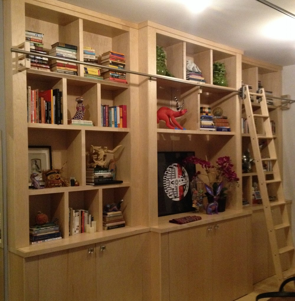 Residence Bookcase/Art Display