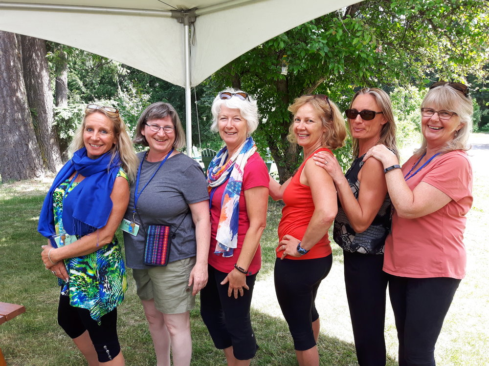 Bringing the expertise of the Masters to your YARD YOGA! - YARD teachers taking professional development at the SOYA workshops in 2018, upgrading our hours and adding to our experience!