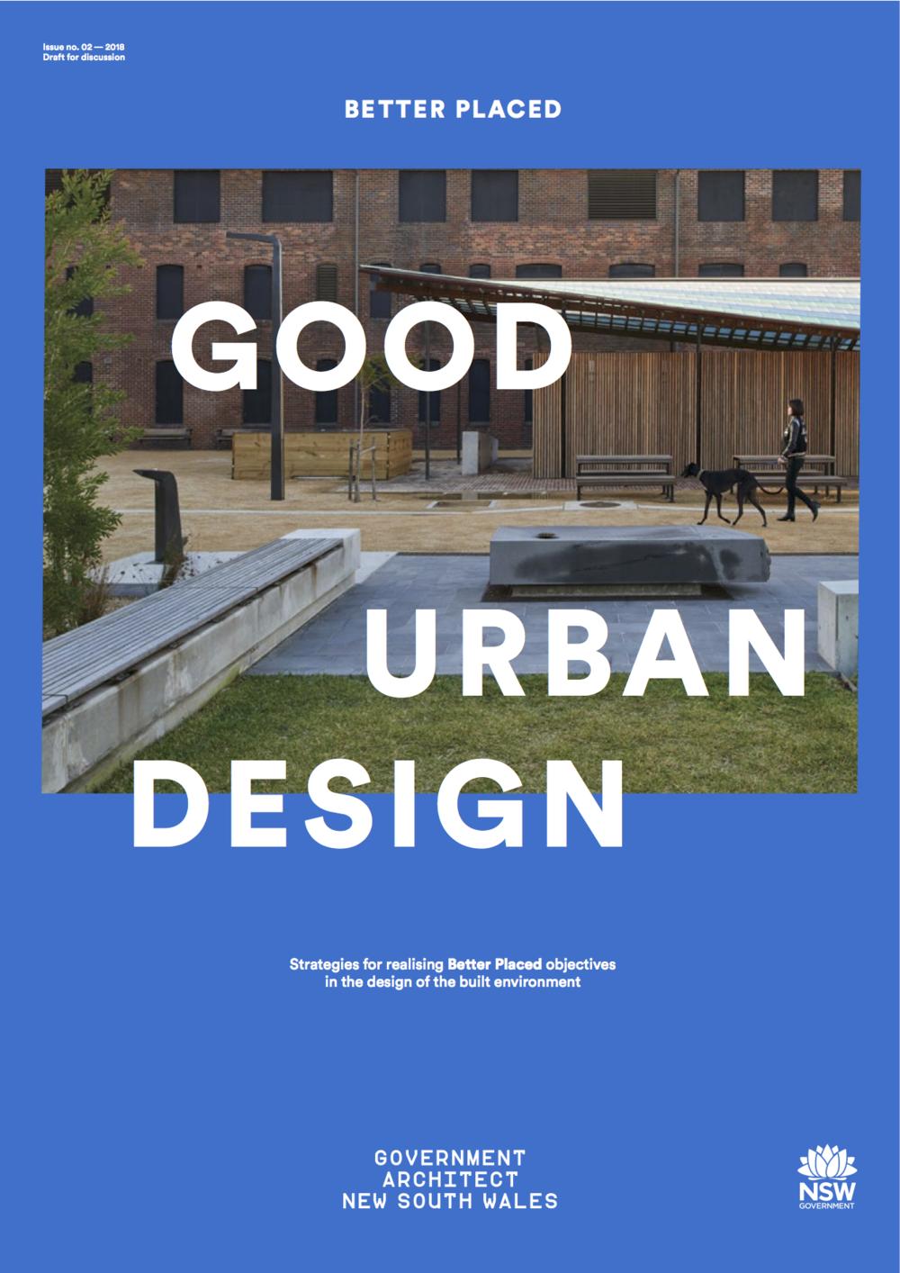 Draft Good Urban Design Better Placed