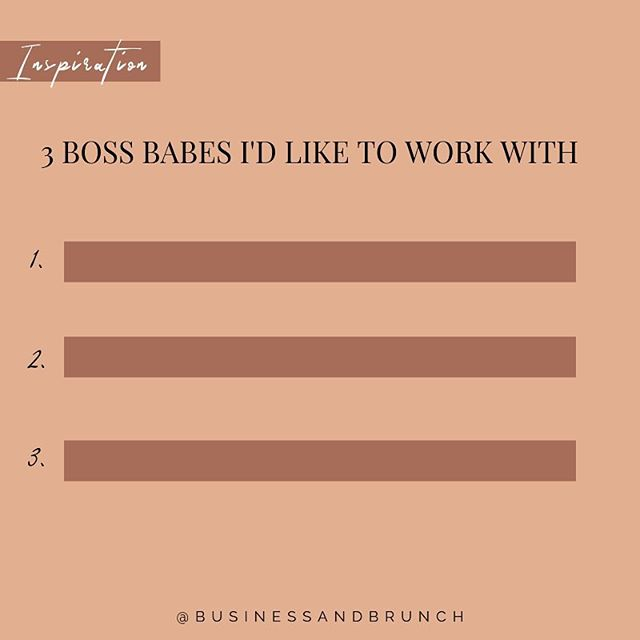 Tag 3 women youd like to work with THEN be intenrional and invite them to an in-person or virtual coffee date! . . Grow your network! Scrolling instagram wont grow your network but engagement will. A lot of people think that gaining engagement is a oke way street. No maam! You also have to engage with others as well!  Afew women we are excited to work with: @smarchephoto @sixfigurespachick @palmerpoweredfinancial