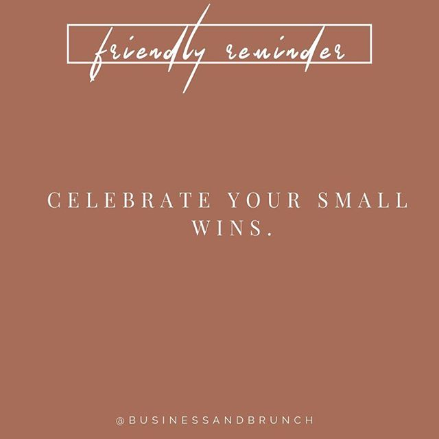 Happy Saturday ladies! Take some time to celebrate your small wins today! Buy yourself your favorite cup of coffee, go to brunch with a friend or spend the afternoon watching your favorite movie in bed😍