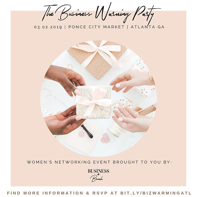 The Business Warming party is next weekend! Who's ready?