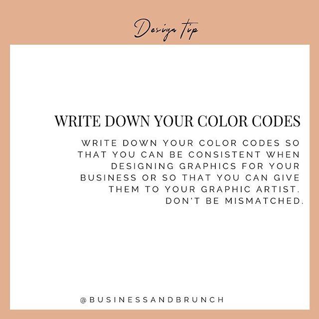 Design Tip!
