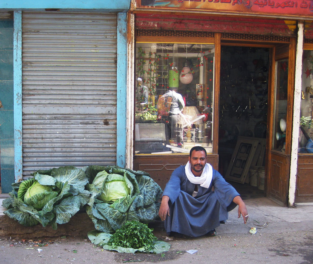 Local With Giant Cabbage_Egyptian_Street Food_Egypt_Hello-Miss-May