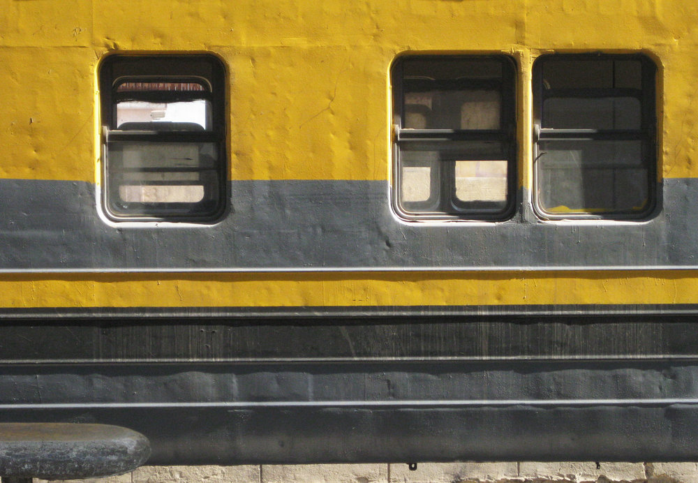Yellow Local Egyptian Train Station_Egypt_Hello Miss May Trip