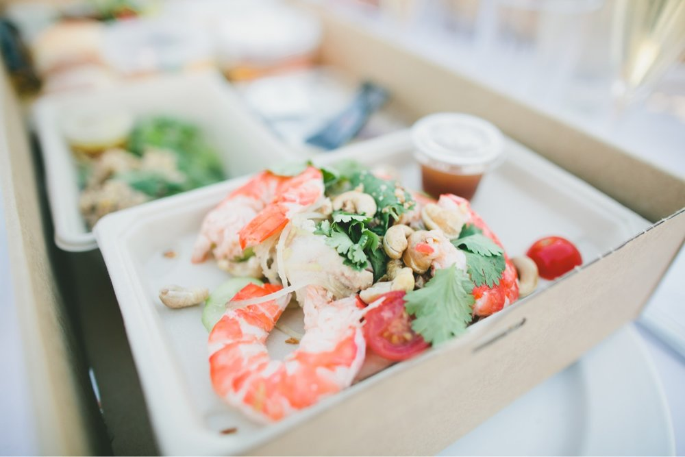 Shrimps Salad_A Moveable Feast by Luke Mangan_Hello Miss May Eats_Good Food Guide_Sydney Australia Summer Party Event