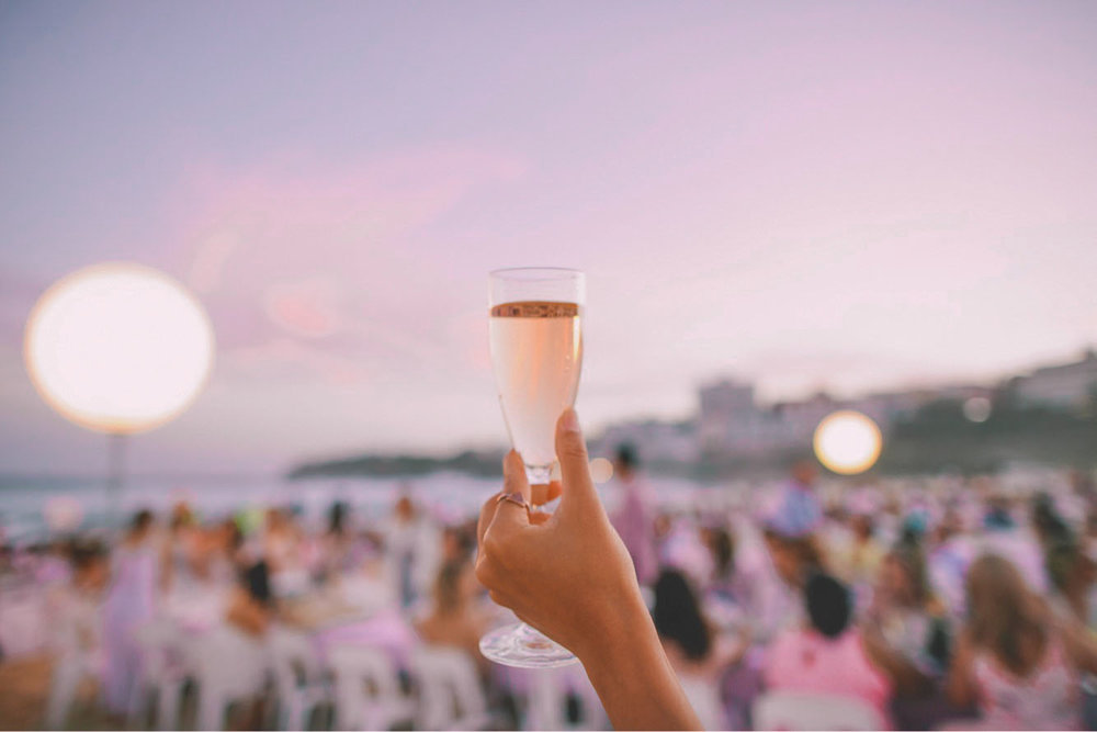 Champagne at Dusk_A Moveable Feast by Luke Mangan_Hello Miss May Eats_Good Food Guide_Sydney Australia Summer Party Event