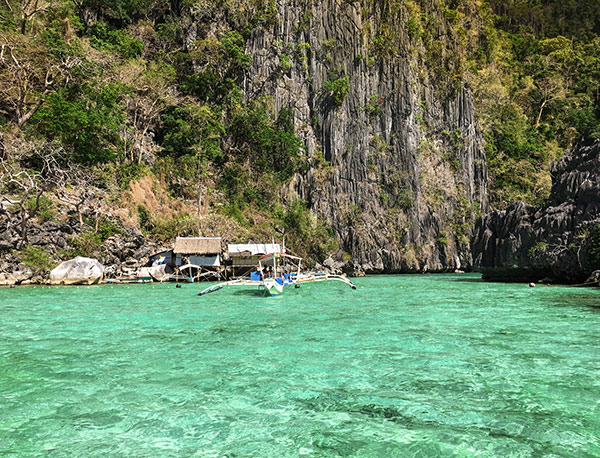 Mermaid Lagoon in Coron