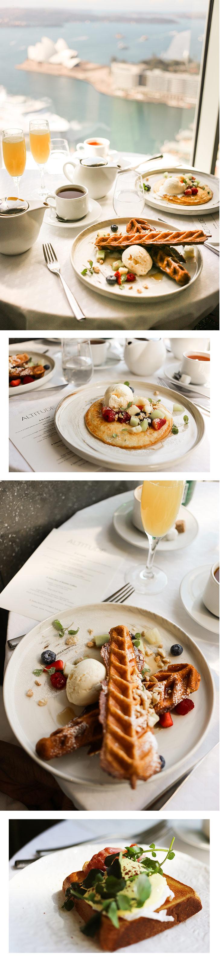 Delicious brunch at Altitude, Shangri-La Sydney. Photos by May Leong.