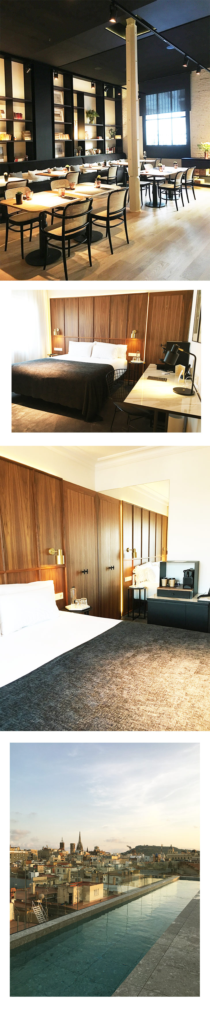 A tour around Yurbban Hotel, the bedroom, pool and dining area. Photo by May Leong.
