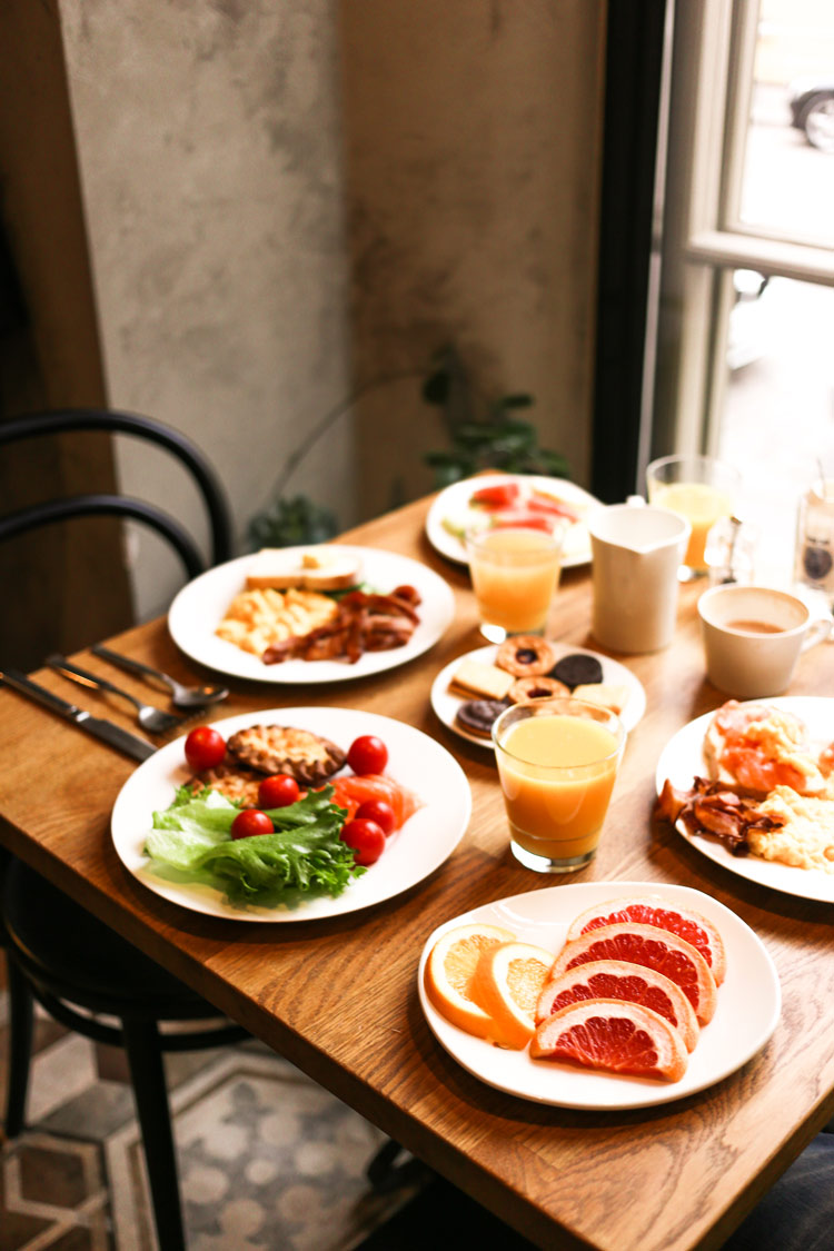 Delicious Finnish breakfast at Hotel Lilla Roberts