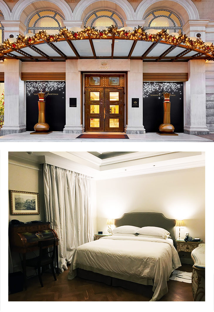 Photo Credit : King George, a Luxury Collection Hotel (first images) and May Leong (second image).