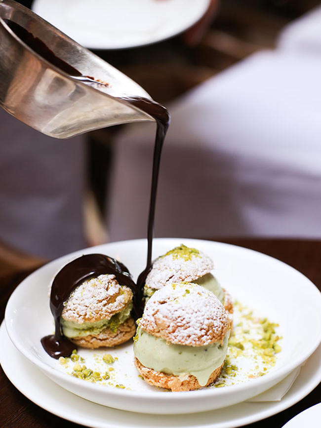 Drooling over this at Cecconi's. Photo by May Leong.