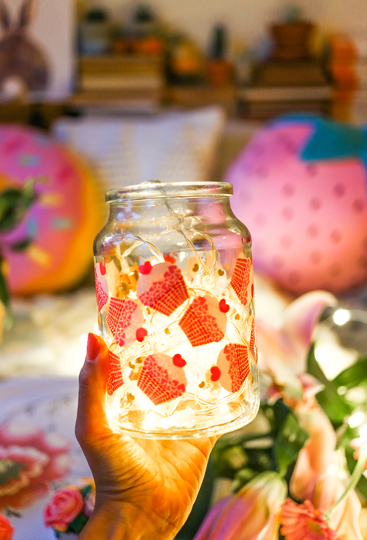 And a jar of light. Too pretty.