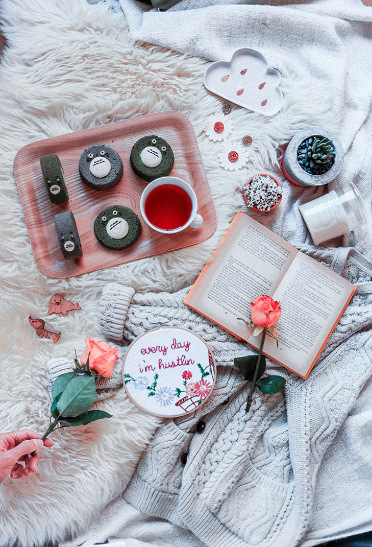 Flatlay days of my favourite things. Image via May Leong.