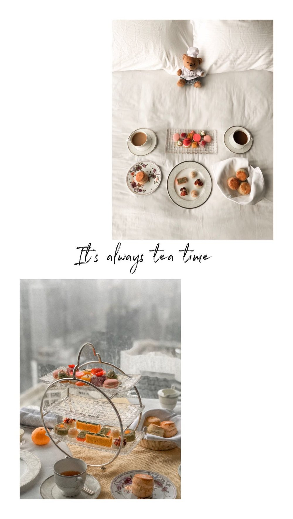 Island Shangri-La Hong Kong-Tea Time_HELLO MISS MAY.JPG